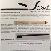 Sorme' Treatment Cosmetics Trio