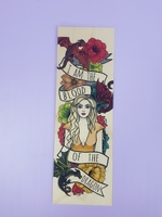 Mother Of Dragons Bookmark by Ink and Wonder