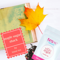 Tease Tea maple sugar shack loose tea blend