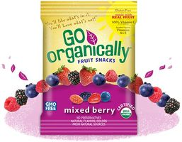 Go Organically Fruit Snacks
