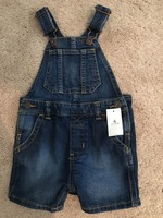 Baby Gap Denim short overalls