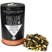 Full Leaf Tea Co. Orange Cinnamon Spice Tea