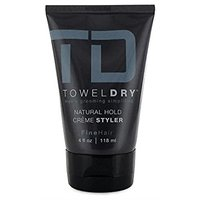 Mens Towel Dry Natural Hold Creme Styler