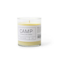 Camp soy citronella candle
