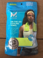 Mission on the go cooling towel