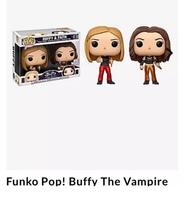 Funko Pop Buffy the Vampire Slayer & Faith 2-pack