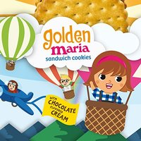 Goya Golden Maria Sandwich Cookies