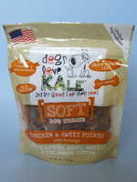 Dogs Love Kale Chicken & Sweet Potato Soft Dog Treats