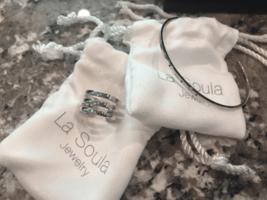 La Soula Modern Triple Diamond Ring & Cuff