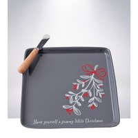 Hallmark Home Holiday Tray with Spreader