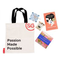 Previous Next           Singapore Passion Made Possible Tote & Items