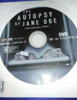 Autopsy Of Jane Doe DVD disc only. Original packaging not included. New.