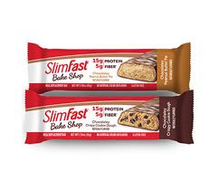 SlimFast Bake Shop Chocolatey Peanut Butter Pie Protein Bar