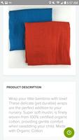 100% organic cotton Muslim blanket - orange