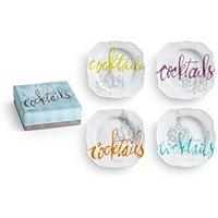 Rosanna Cocktails Appetizer Plates (Shoptiques Gift Card)