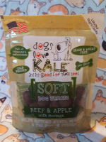 Dogs Love Kale Beef & Apple Soft Dog Treats