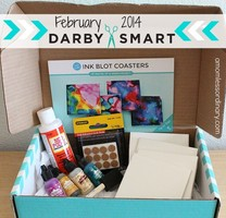 Darby Smart Ink Blot Coasters Complete Kit