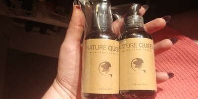 Nature Queen Herbal Shampoo & Conditioner