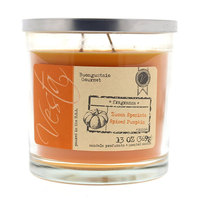 Spiced Pumpkin Double Wick Jar Candle by Vesta