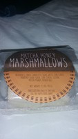 Match's honey marshmallow