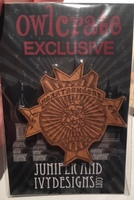 Grishaverse wooden brooch Six of Crows Owlcrate exclusive