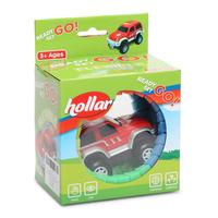 Hollar Glow Tracks 25pc Starter Kit + Vehicle Toy
