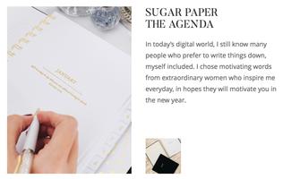 Sugar Paper The Agenda