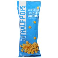 Halfpops Curiously Crunchy Popcorn in Butter & Sea Salt