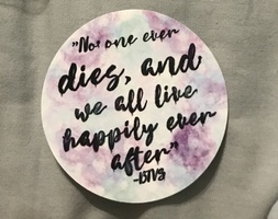 Buffy the Vampire Slayer Quote Sticker