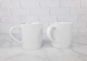 Trish Richman Dotted Ceramic Mugs