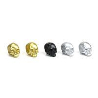 Memento Mori Set of 5 Metallic Skull Mini-Candles
