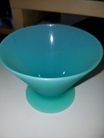 Unbreakable Silicone Martini/Cocktail Glass or Ice Cream Bowl