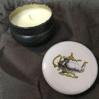 Fringe Studio Gold Teapot Henry Tin Candle