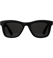 KOMONO Allen All Black Rubber CZ Sunglasses