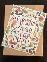 Grateful Hearts print by Maddie Baker Makes, RV $17