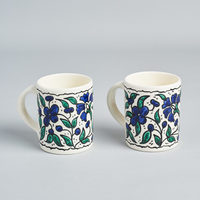 Pair of mugs - hand painted
