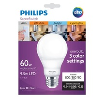 Phillips 60w led scene light bulb