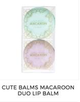 Cute Balms Macarron Duo lip balm