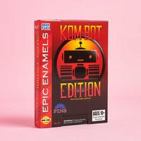 Kom-Bot Epic Enamels Pin