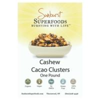 Sunburst Superfoods Cashew Cacao Clusters