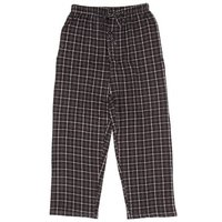 Tru-Fit Black Plaid Pajama Men's Pants XL