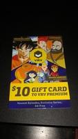 $10 VRV premium gift card