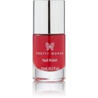 Pretty Woman Red Lips & Wine Sips Nail Polish
