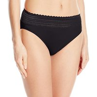 Warner's Women's No Pinching No Problems Lace Hi Cut Brief Panty