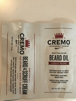 Cremo Beard Oil and Scruff Cream