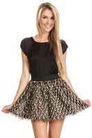 Sugar Lips Golden Drops Skirt
