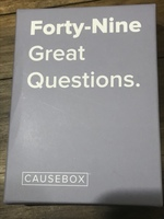 Causebox 49 Great Questions