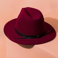 Summer and Rose Felt Hat