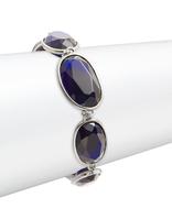 Karen Kane blue faceted stone jewelry set