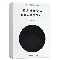 Soprano Labs Bamboo Charcoal Vegan Soap